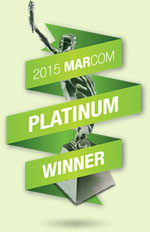 2015 MarCom Platinum Award Winner